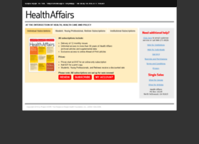 fulfillment.healthaffairs.org