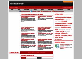 fulhamweb.co.uk