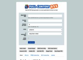 fullcontentrss.com