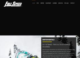 fullspeedrentals.com