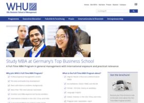 fulltime-mba.whu.edu