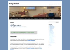 fullyhuman.co.uk