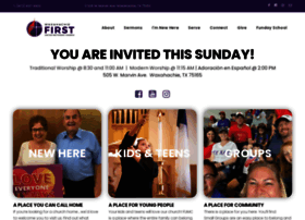 fumcwaxahachie.org