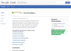 functionaljava.googlecode.com