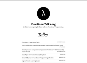 functionaltalks.org