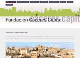 fundacioncacerescapital.org