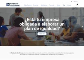 fundacionconfemetal.com