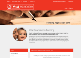 funding.vitalfoundation.co.za
