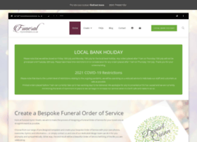 funeralhymnsheets.co.uk