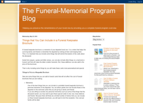 funeralmemorialprograms.blogspot.com