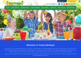 funkymonkeysuae.com