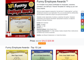 funnyemployeeawards.com