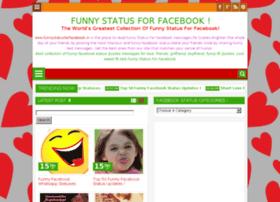 funnystatusforfacebook.in