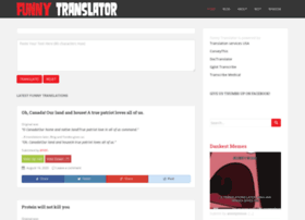 funnytranslator.com