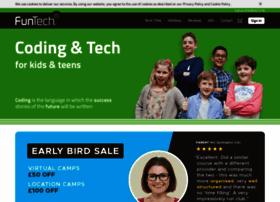 funtechsummercamps.com