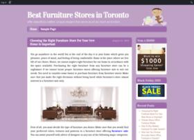 furnituretoronto.edublogs.org