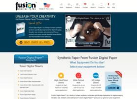 fusiondigitalpaper.com