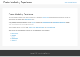 fusionmarketingexperience.com