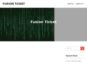 fusionticket.org