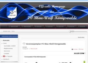 fv-blau-weiss-koenigswalde.de