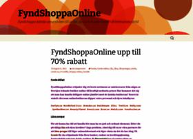 fyndshoppaonline.wordpress.com