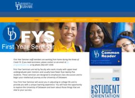 fys.udel.edu