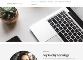 gabbyarciniega.com