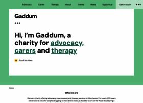 gaddumcentre.co.uk