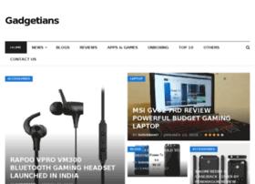 gadgetians.com
