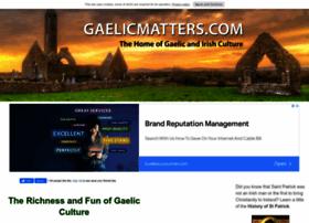 gaelicmatters.com