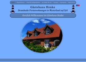gaestehaus-henke.de