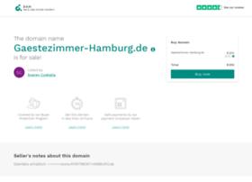 gaestezimmer-hamburg.de