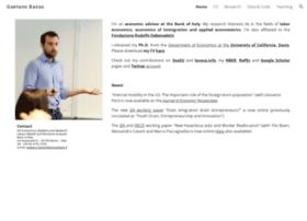 gaetanobasso.ucdavis.edu