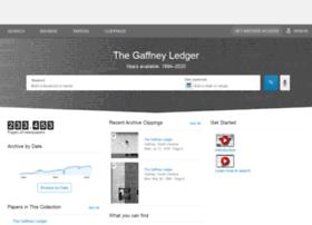 gaffneyledger.newspapers.com