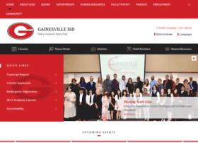 gainesvilleisd.org