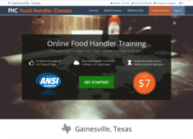 gainesvilletx.foodhandlerclasses.com