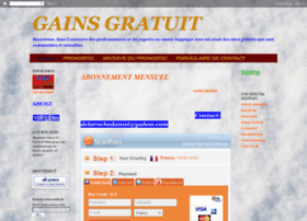 gainsgratuit.blogspot.com