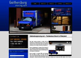gaithersburgmoving.com