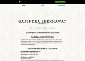 gajendrashekhawat.brandyourself.com
