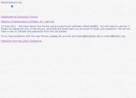 galactosemics.org