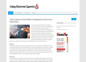 galaxyelectroniccigarette.co.uk