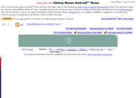 galaxynexusroms.com