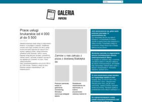 galeriapapieru.com.pl