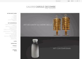 galeriecaroledecombe.com