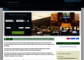 gallery-hotel-barcelona.h-rez.com