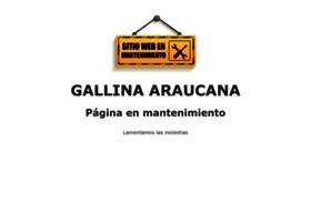 gallinaaraucana.es