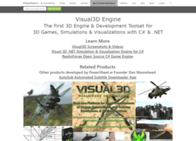 game-engine.visual3d.net