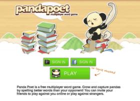 game.pandapoet.com