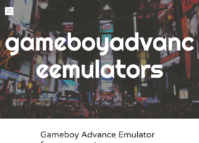 gameboyadvanceemulators.wordpress.com
