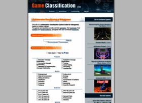 gameclassification.com